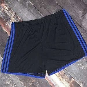 Woman's soccer shorts NWT Adidas XL
